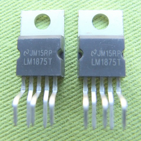 LM1875 based class AB power amplifier